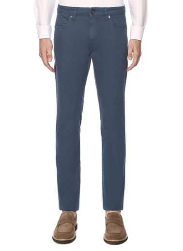 George Hogg Erkek Casual Pantolon 7003225 Mavi